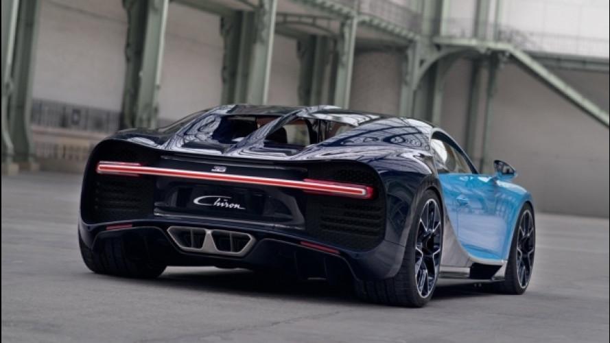 Bugatti Chiron, centinaia di migliaia di euro per allestirla a dovere