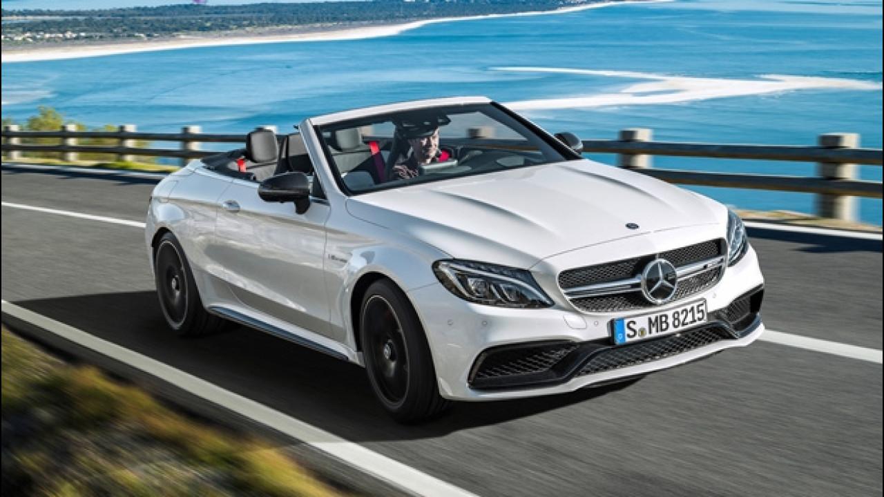 [Copertina] - Mercedes-AMG C 63 S Cabrio, l'urlo del V8 turbo
