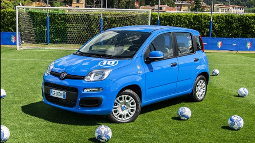 Fiat Pandazzurri, perfetta per tifare Italia