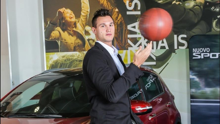 Il nuovo Kia Ambassador è il campione di basket Danilo Gallinari