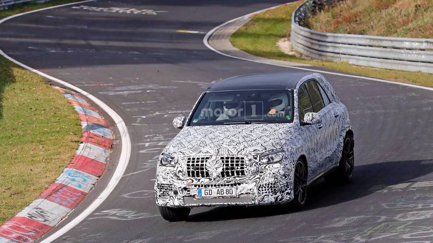 Mercedes-AMG GLE 63 Spied With Driver And Passenger At The 'Ring