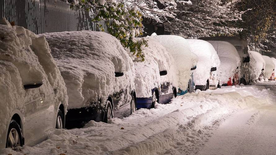 voiture hiver