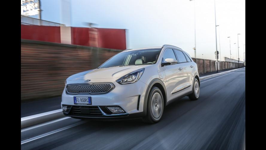Kia Niro Plug-In Hybrid, la crossover ancora più eco-friendly