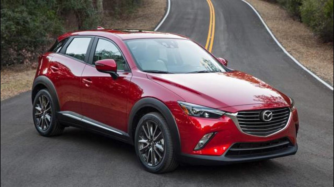 [Copertina] - Con la CX-3, Mazda punta alla leadership tecnologica del segmento