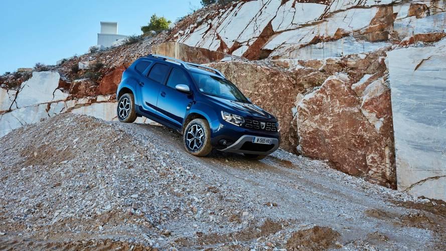 Dacia Duster, daha güçlü yeni dCi motorlarına kavuşuyor