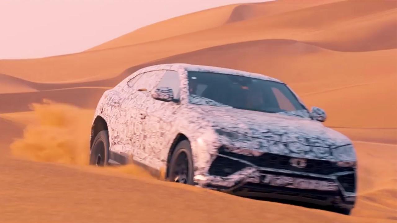 [Copertina] - Lamborghini Urus, il video teaser nel deserto