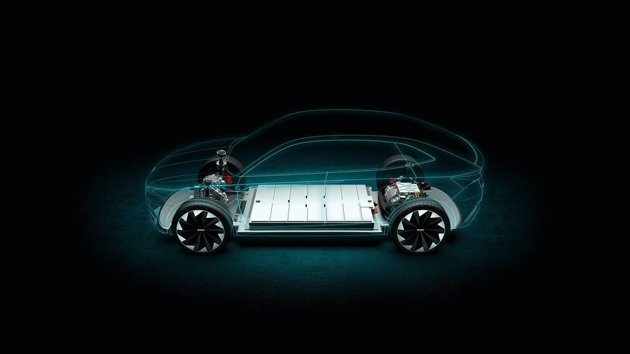 Skoda electric vehicle teaser