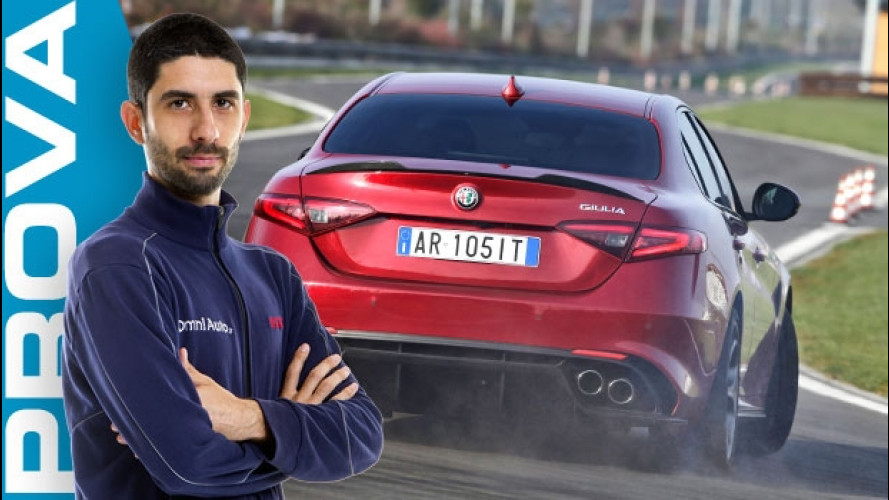 Alfa Giulia Quadrifoglio, ecco come va [VIDEO]