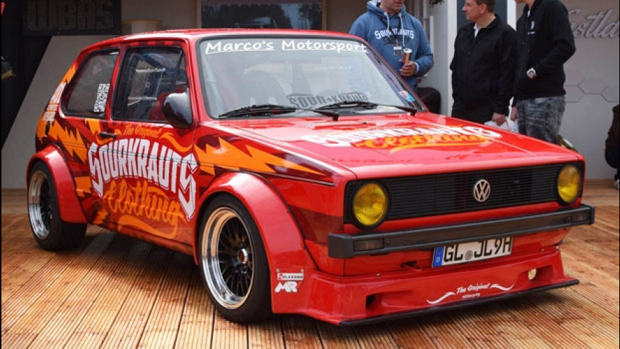 Worthersee 2016, le Volkswagen tutte matte
