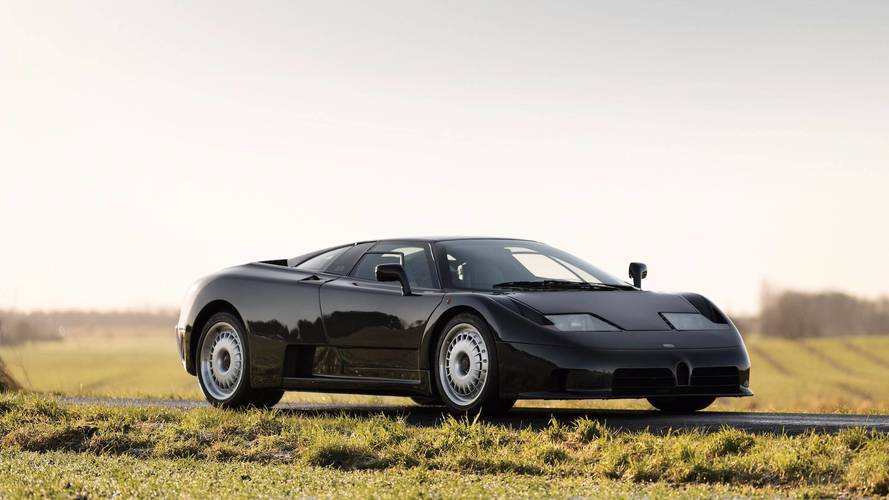 Une rare Bugatti EB110 GT de 1993 à vendre aux enchères