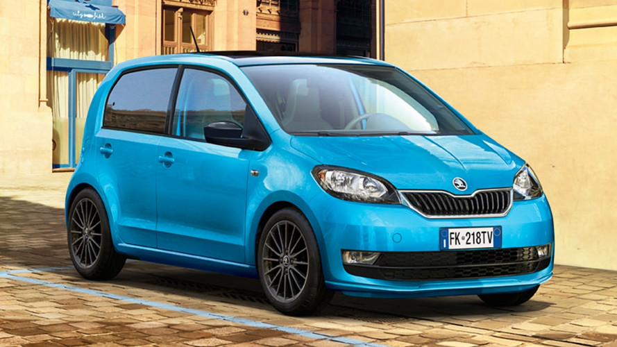 Skoda Citigo Design Edition, bicolore anche per neopatentati
