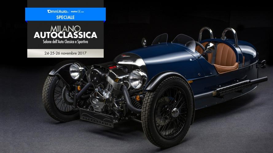 Milano AutoClassica, il meglio di Morgan in mostra