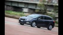 Kia cee'd Sportswagon 1.6 GDI DCT Cool, prova su strada