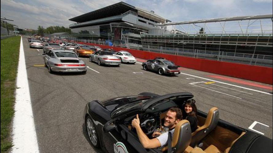 50 anni Porsche 911: oltre 250 auto a Monza