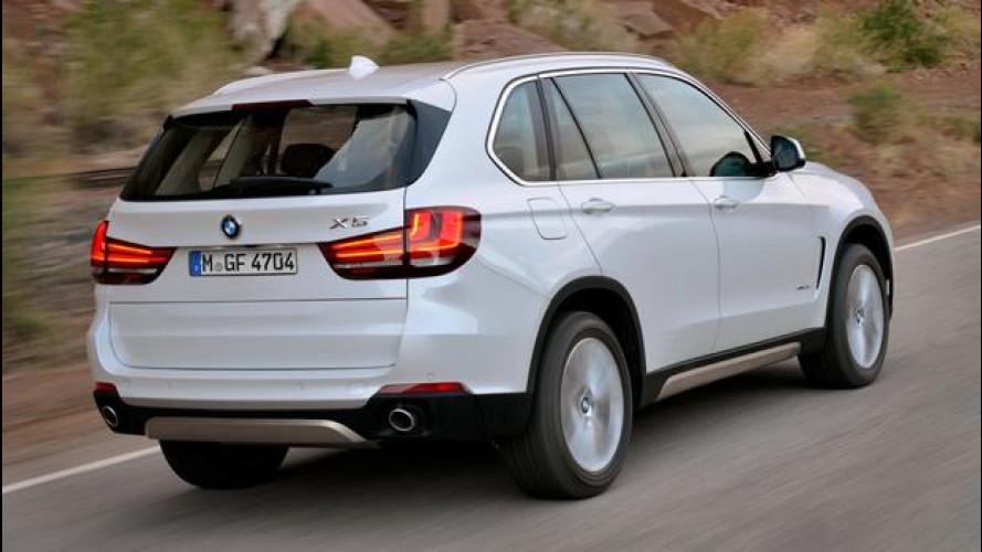 Nuova BMW X5, tante innovazioni allo stesso prezzo
