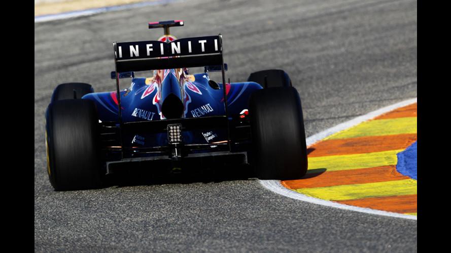 F1: Infiniti sponsor della Red Bull