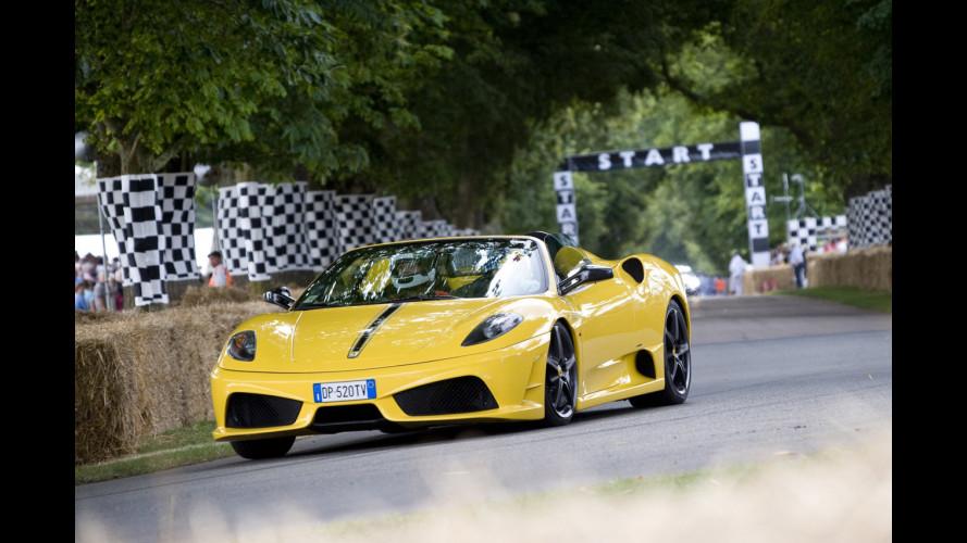 Ferrari a Goodwood