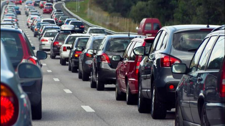 La crisi fa diminuire il traffico in Italia