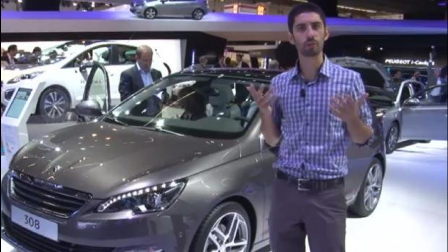 Salone di Francoforte: Peugeot 308, com'è fatta l'anti Golf francese [VIDEO]