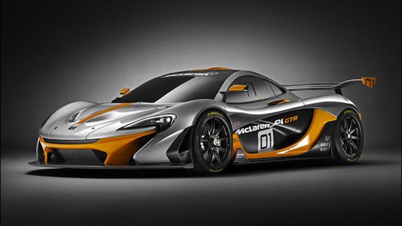 [Copertina] - McLaren P1 GTR Concept