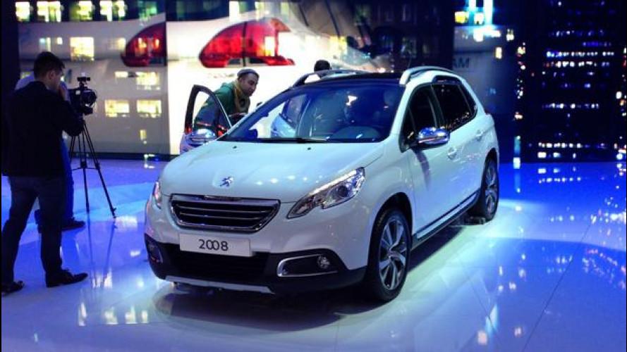 "Salone di Ginevra: la Peugeot 2008 ""alza"" l'ultilitaria"