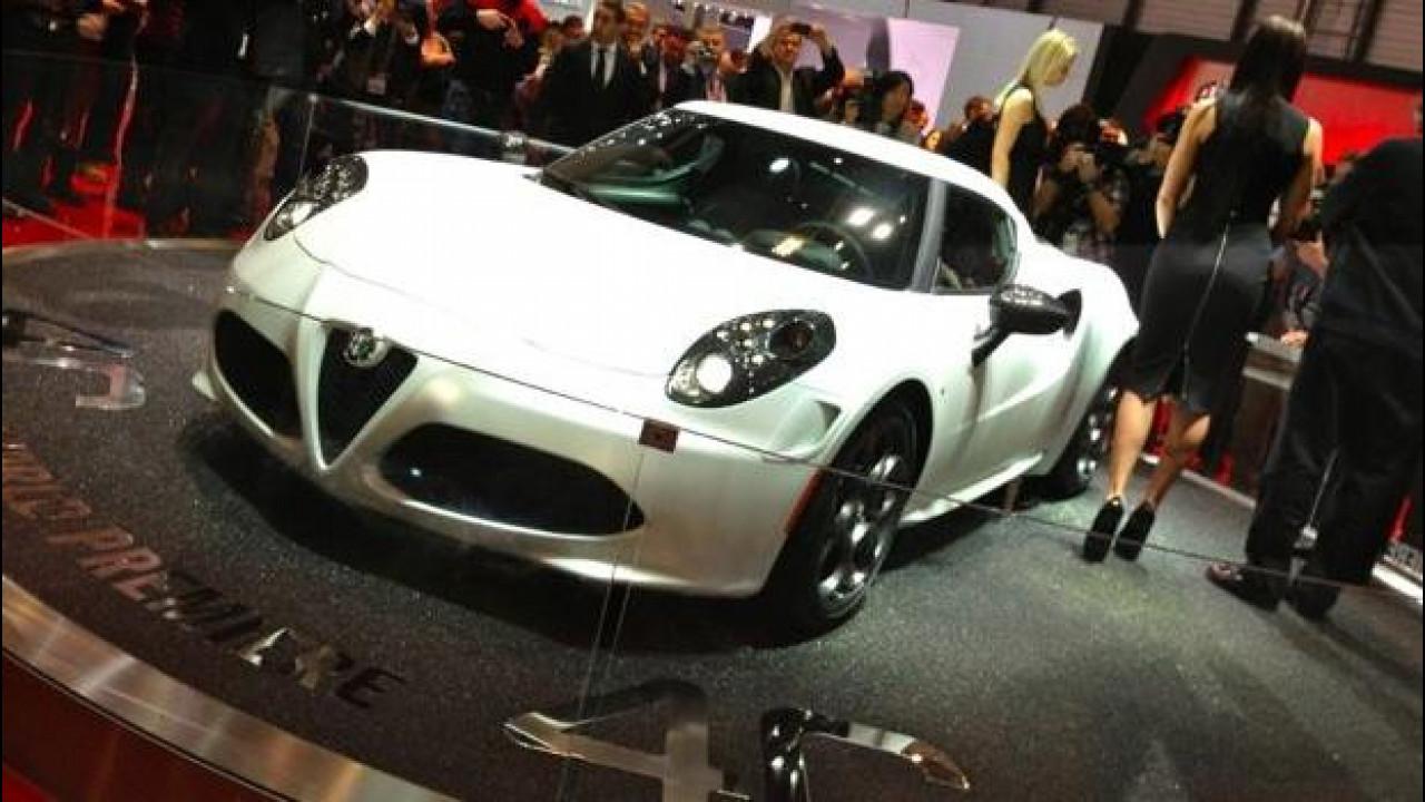 [Copertina] - Alfa Romeo 4C: al Salone di Ginevra torna la