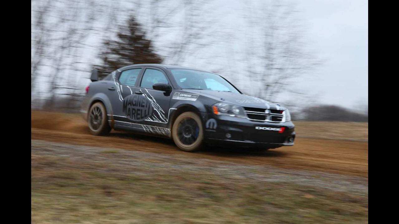 Dodge Avenger Rally Car. Magneti Marelli e Mopar
