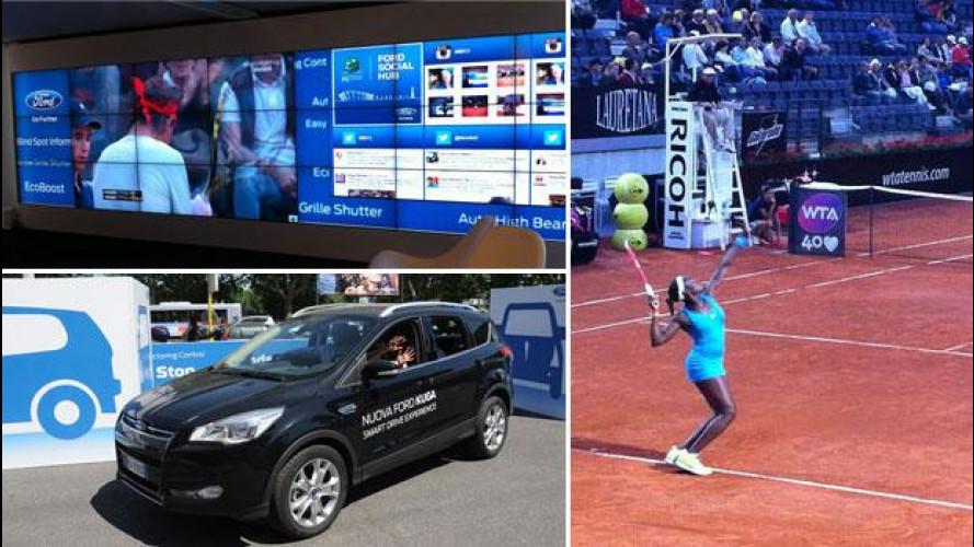 La tecnologia Ford si prova agli Internazionali di Tennis 2013