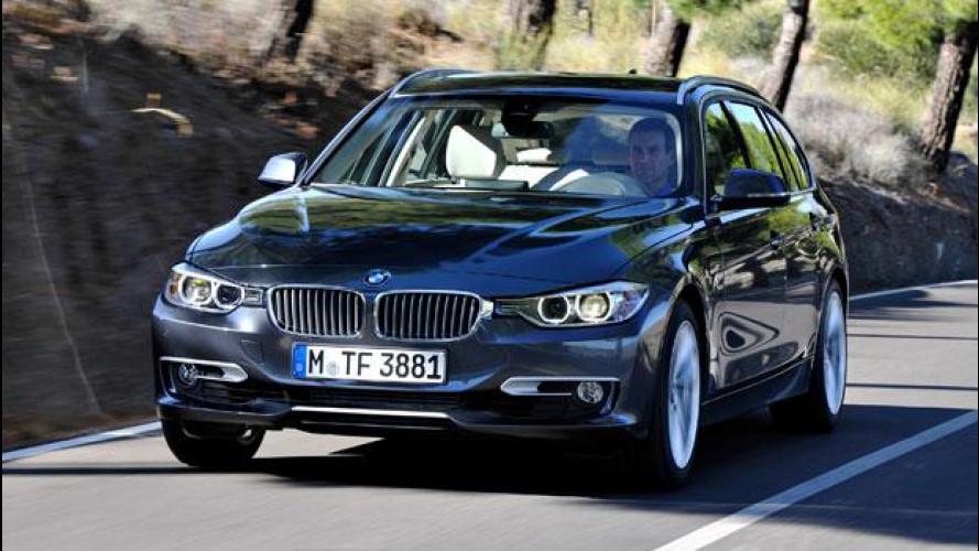 BMW Serie 3 Touring: un carico di dinamismo e hi-tech