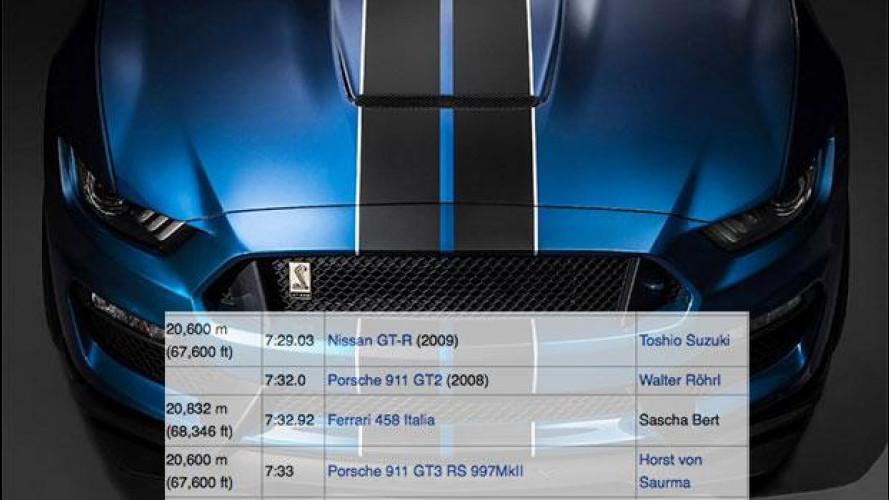 La Ford Mustang più veloce della Ferrari. Forse