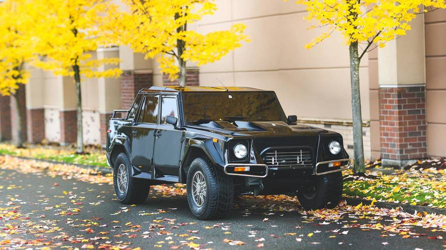 Rare U.S.-Spec Lamborghini LM002 Fetches $467,000 At Auction