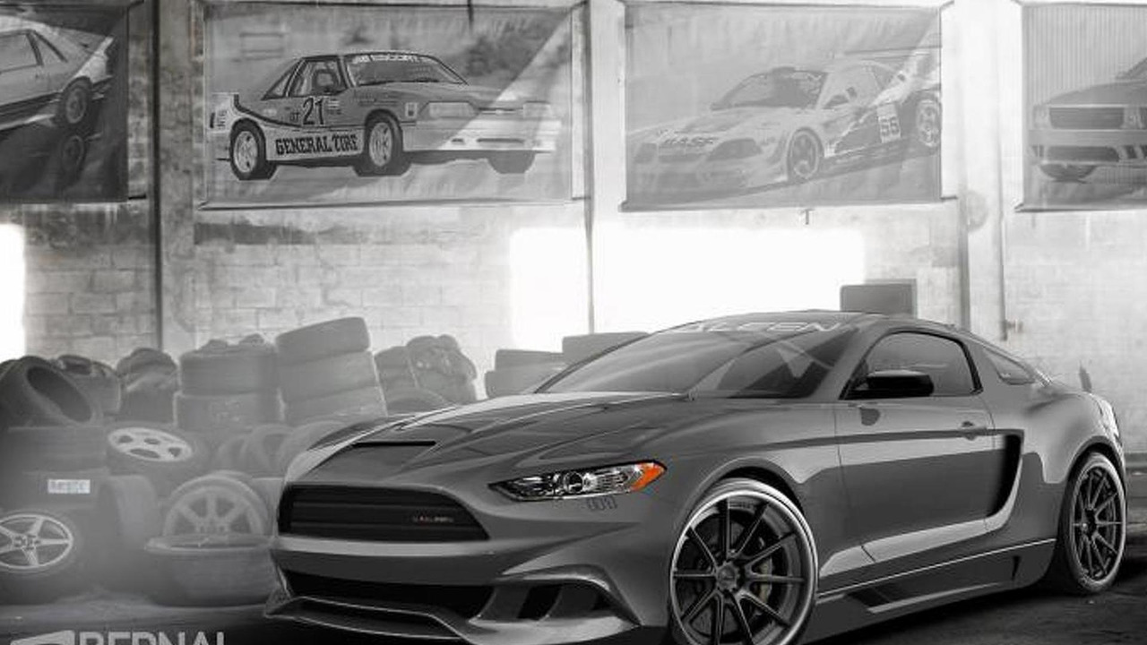 2015 Saleen Mustang render
