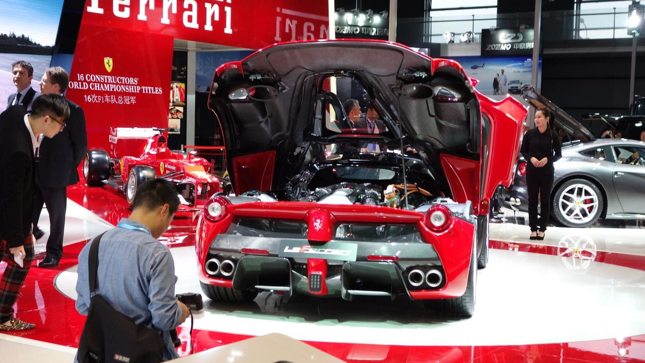 LaFerrari at 2013 Auto Shanghai