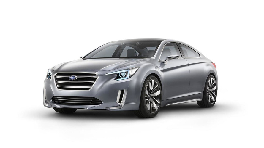 Subaru Legacy Concept revealed prior to Los Angeles Auto Show debut