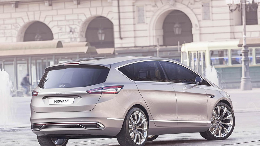 Ford S-MAX Vignale concept unveiled, production version already planned