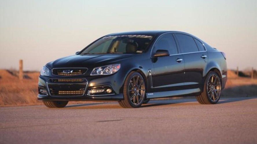 Hennessey tunes the Chevrolet SS to 1000 bhp