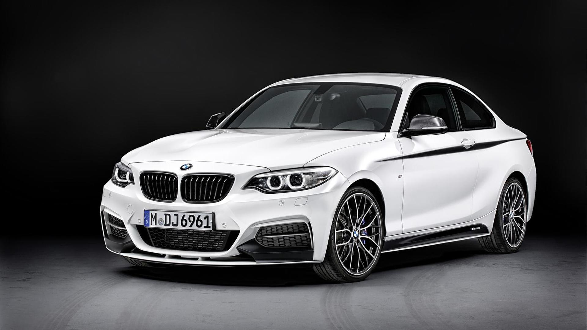 2014 bmw 2 series coupe receives m performance parts