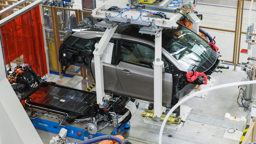 2014 BMW i3 production starts in Leipzig