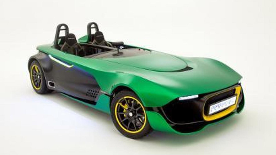 Caterham AeroSeven concept leaked photo 19.9.2013