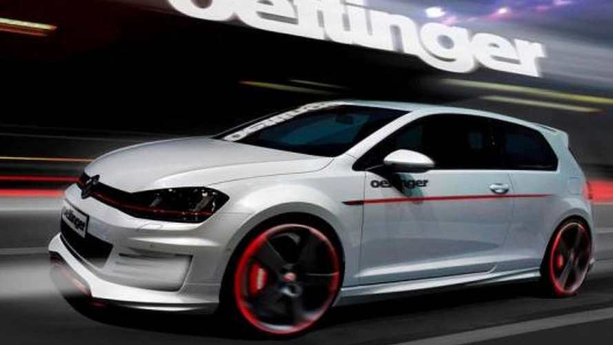 Oettinger previews their tuning program for the Volkswagen Golf GTI