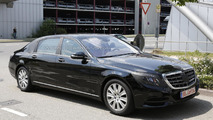 2014 Mercedes-Benz S-Class Pullman spy photo 11.07.2013