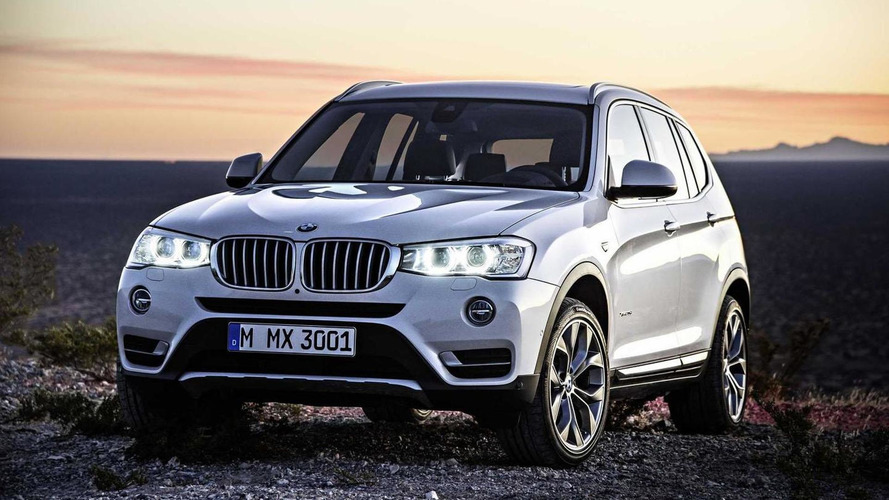 2017 BMW X3 to have M40i & X3 M variants