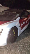 Lykan Hypersport for Abu Dhabi police