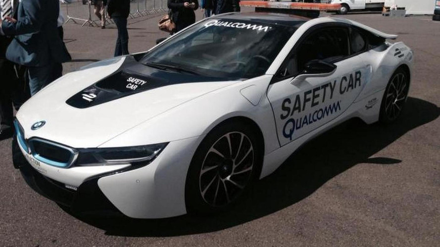 BMW i8 FIA Formula E Championship safety car unveiled & ready for action [video]