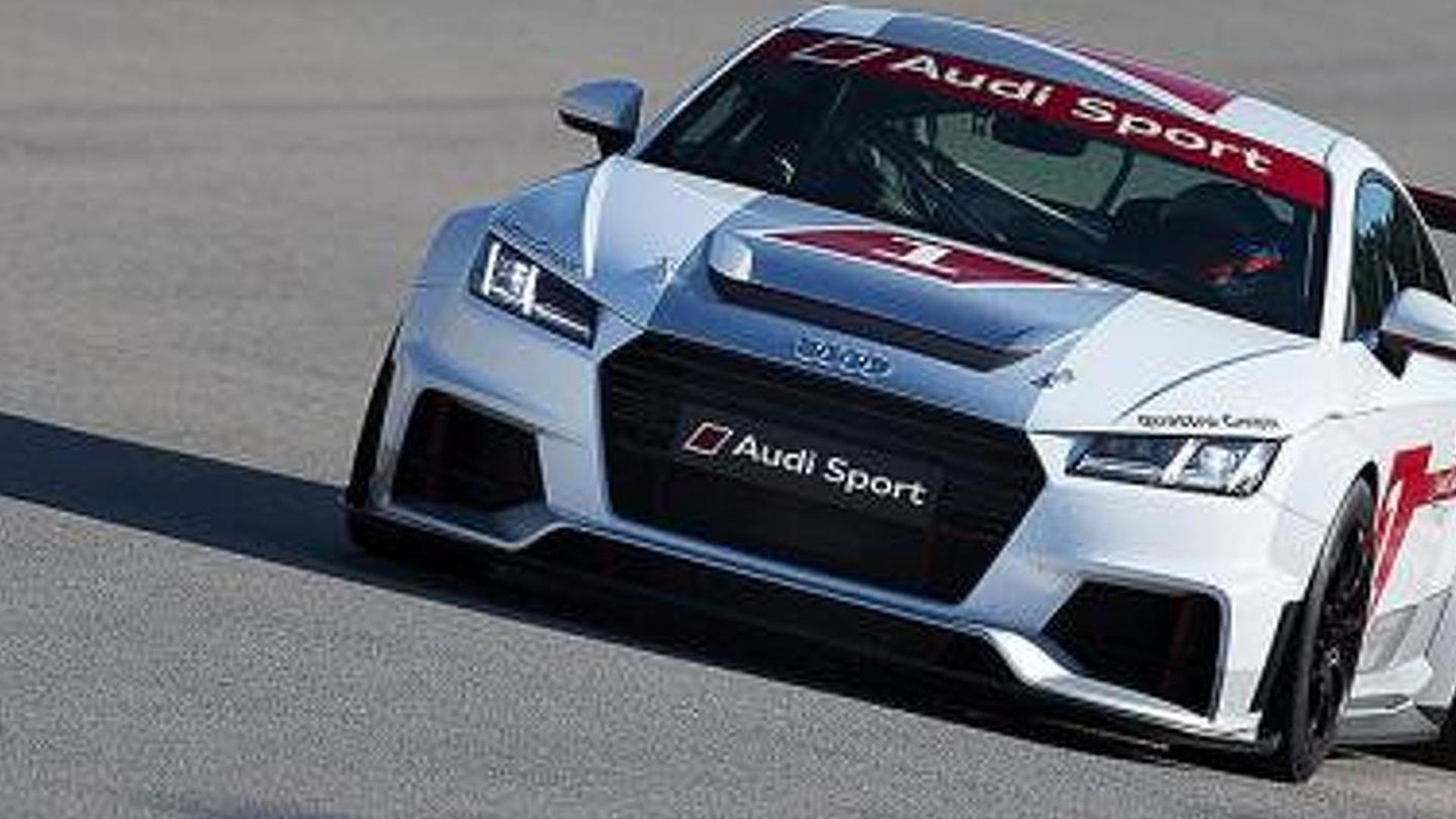 Audi TT race car revealed, will compete in new single-make