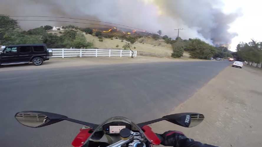 The Risks Of Riding In Fire-Plagued California