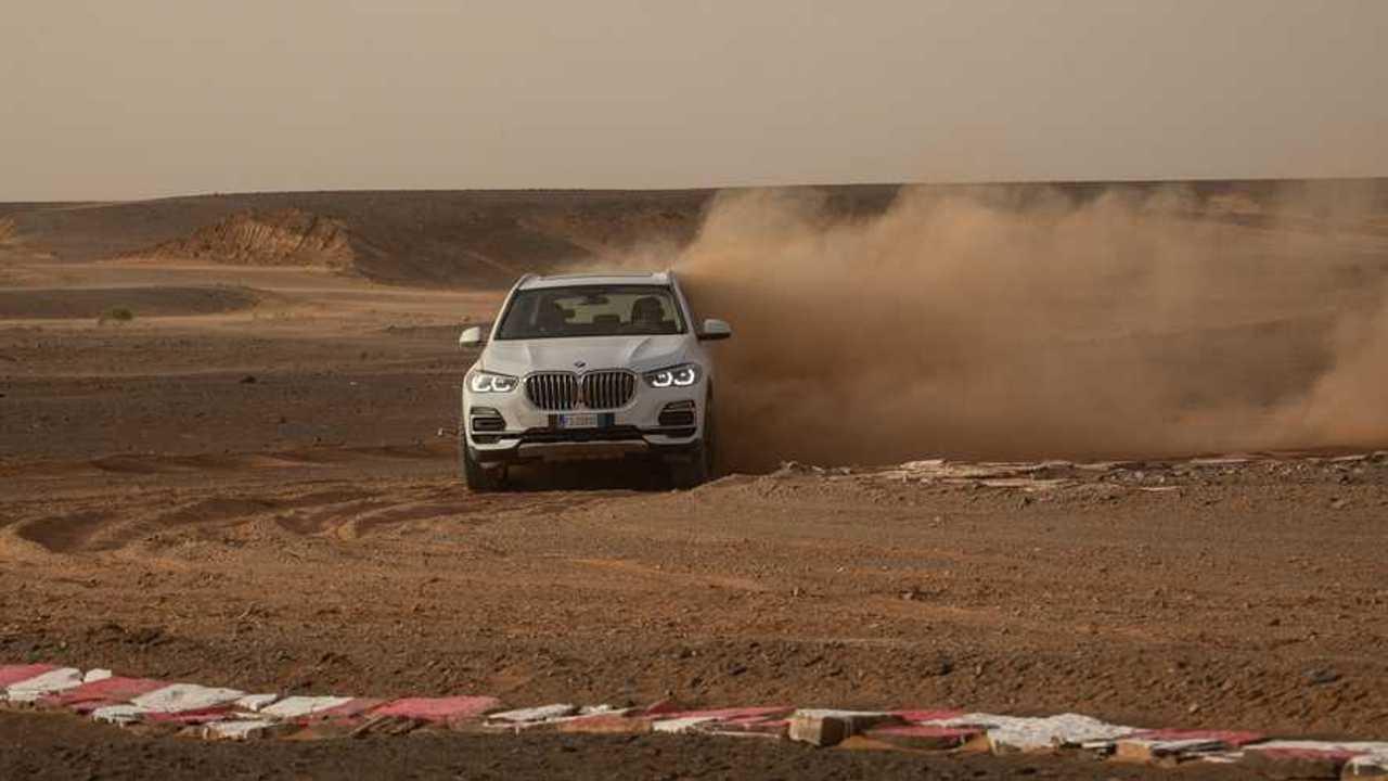 BMW X5 , Sahra Çölü'nde
