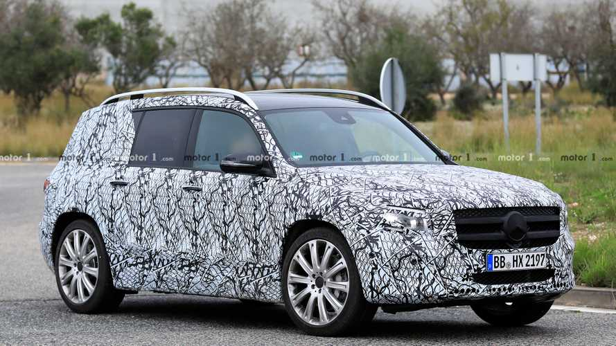 Mercedes-AMG GLB 35 Breaks Cover In Fresh Spy Photos