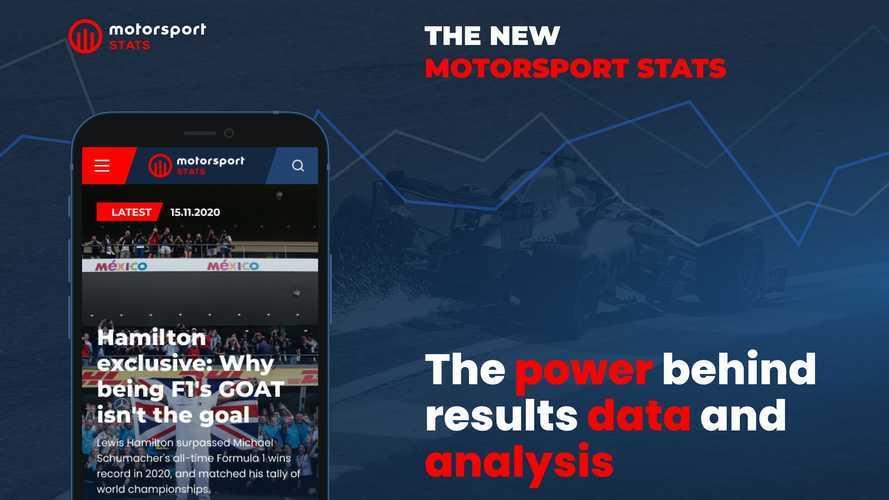 Motorsport Stats, yeni görünüşü ve özellikleriyle yeniden yayında