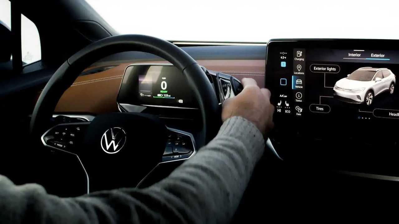 volkswagen id4 smart features